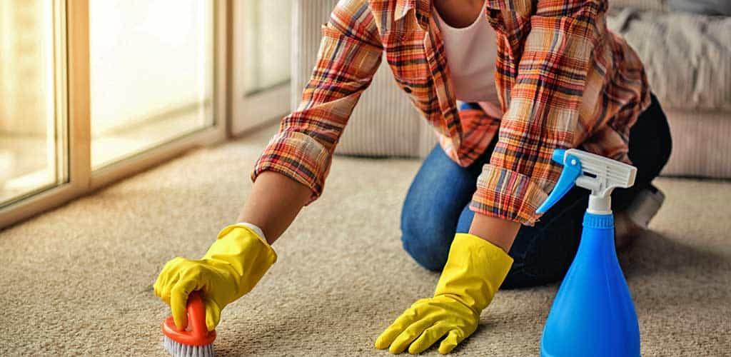 почистваща жена от фирма